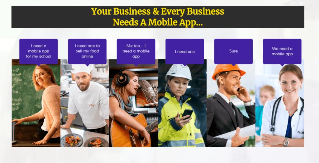 App Builder Pro is a business advantage