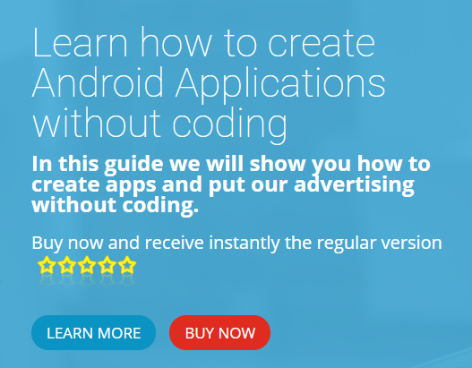learn how to create android apps